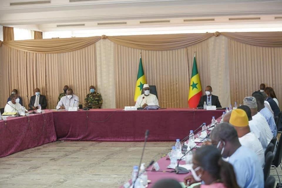 Le DG de la CGIS au Conseil Présidentiel sur le programme des 100.000 logements