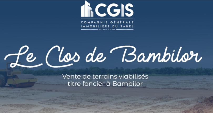 Terrains viabilisés à vendre à Bambilor
